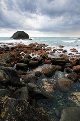 La orilla. (Matias Lavva) Tags: espaa paisajes costa seascape landscape coast mar nikon canarias larambla tenerife d300 1424mm