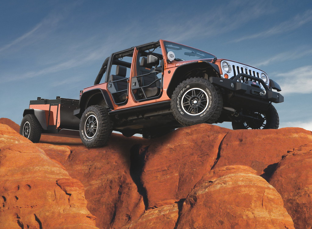 Jeep® Extreme Trail Edition Trailer from Mopar®