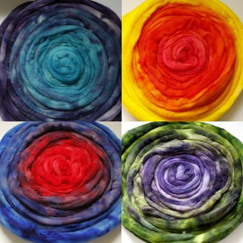 Spinning a yarn fibre 2010