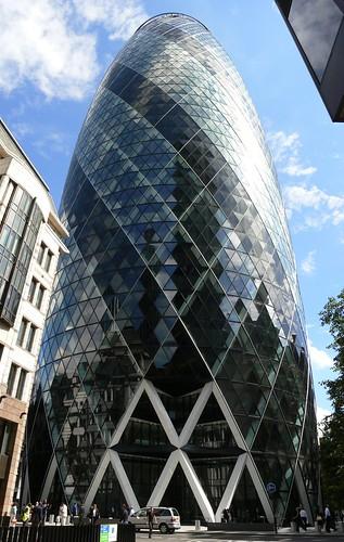 Torre Swiss Re en Londres