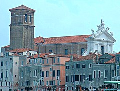 Venice on approach