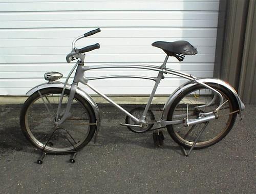 1936 Monark Hawthorne silverking flowcycle