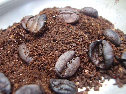 ground coffee beans 1