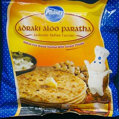 Dough Boy Presents Ginger Potato Paratha!