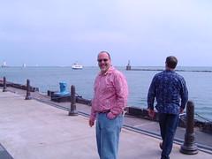 Kent on Pier (Serrattaritaville) Tags: chicago penn deby 20040823 serrattaritaville katdaddy