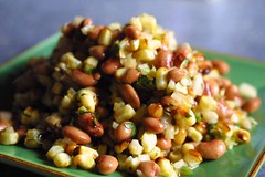roasted corn & blackeyed pea salad