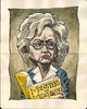 Hillary Clinton Caricature
