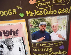 Mr. Ice Cube ate!