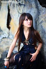 P2007-0602-232 - 廢墟 ping 惡魔 taipei black devil woman portraits beauty asian taiwan 小品