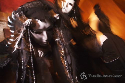The Wandering Marionettes at Labyrinth of Jareth Masquerade Ball, 2007