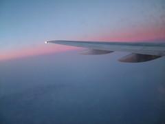 Sunset at 25000 Feet.