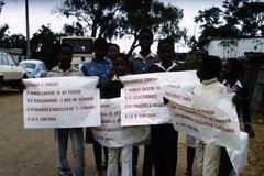 Trauer um Samora Machel