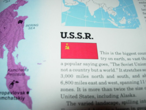 I Found a Book That Still Referred to Russia as the USSR