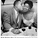 Joe Louis Kisses Sarah Vaughan On Her 27th Birthday - Jet Magazine, April 10, 1952