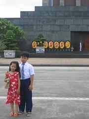 mausoleo de ho Chi Min (islas) Tags: retrato hermanos familiar mausoleo