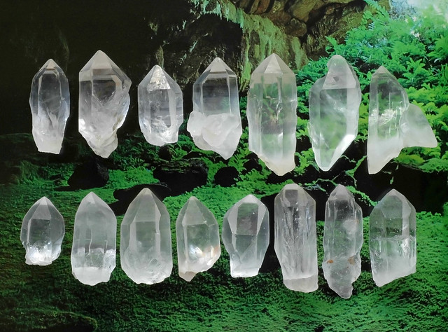 Atlantean Quartz Points