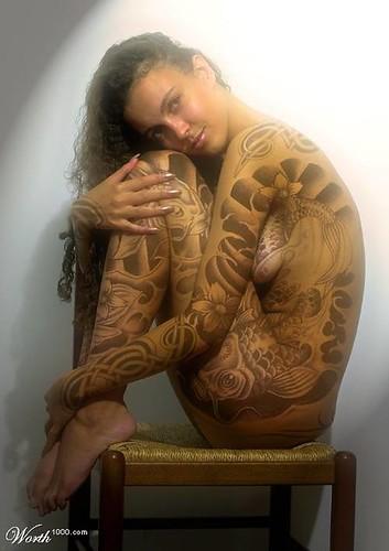 dragon japones tatuaje.  periodo es cuando comienza a desarrollarse el tatuaje japones tal y como