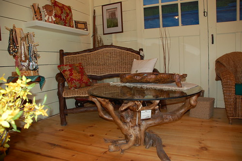 Furniture from The Boathouse, Inlet NY
