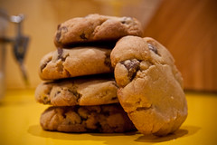 Choc Chip Biscuits (Steph__A) Tags: recipe cookie yum chocolate biscuit crunchy chocchip countryshowcookbook
