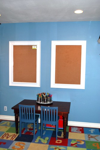 Our Blank Canvas, Bulletin Boards