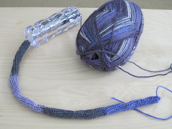 Spool knitting