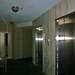 Dark hallways in the tower