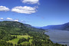 Columbia River Gorge From Cape Horn Lookout - HDR (David Gn Photography) Tags: trees clouds landscape washington view bluesky lookout hdr columbiarivergorge capehorn scenichighway pullout canonef28135mmf3556isusm canoneos7d