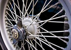 Spare Tire (sarabeephoto) Tags: car vintagecar mg lightroom canons90