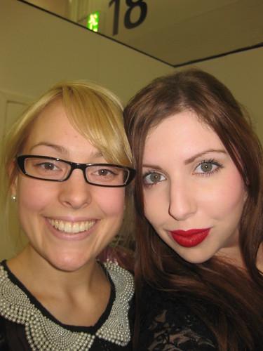 Natasha and I