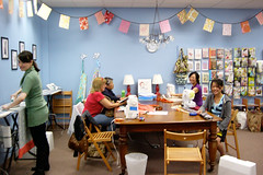 Charity Sewing, Oct. 24, 2010