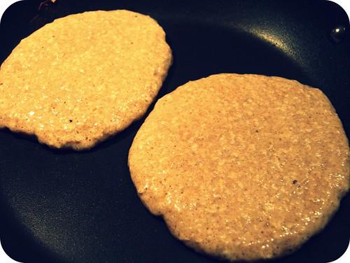 oatmeal pancake batter