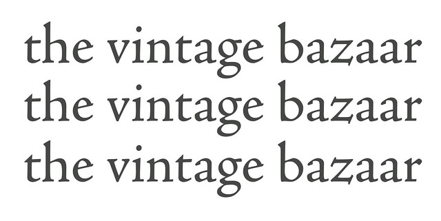 The Vintage Bazaar Logo
