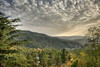 Prodromos view (Mike G. K.) Tags: trees house mountains abandoned clouds landscape hotel nikon cyprus rays hdr troodos photomatix prodromos 3exp d5000 βερεγγάρια vereggaria βερεγκάρια veregaria mikegk:gettyimages=submitted
