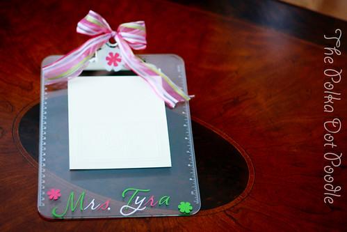 Clip Board-$10