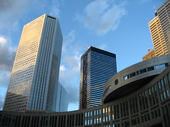 Tokyo_Skyscraper District_01 (Michael Juul) Tags: building japan modern skyscraper tokyo design architechture shinjuku futuristic skyscrapersintokyo