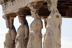 Europe 464 (jamminjj) Tags: statue europe athens acropolis