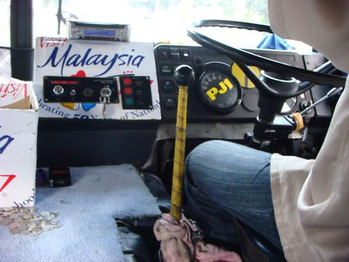 Local bus. Penang, Malaysia.