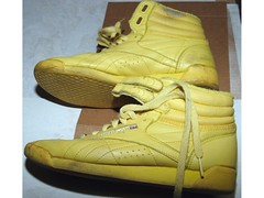 Reebok Freestyle Hi Classic Yellow (Sneaker fan) Tags: classic yellow freestyle hi rfh reebok hitop