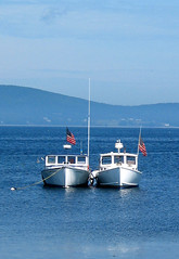 2 Lobster Boats