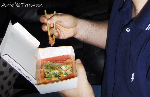 Mr. T 吃蚵仔煎