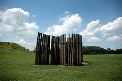 Cahokia pallisade (reconstruction)