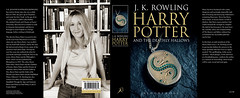 JK Rowling on the adult cover of Harry Potter 7 which apparently depicts THE locket