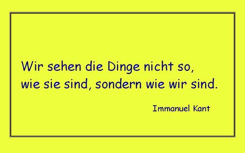 Kant - Die Dinge ...