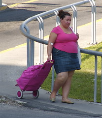 Study in Pink (colros) Tags: montreal obesity foodaddiction