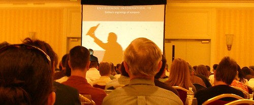 Edward Tufte on the big screen