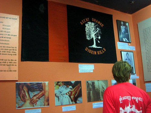 A display at the War Remnants Museum