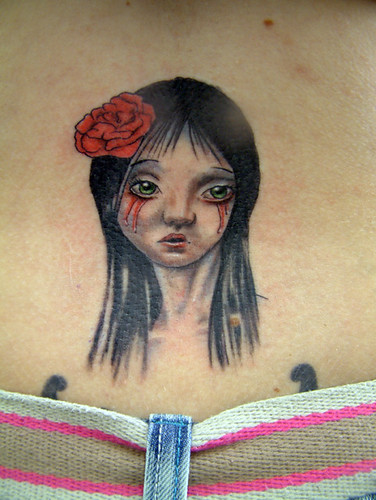 bleeding eyes Tattoo