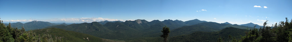 Big Slide Mountain - Panorama 6