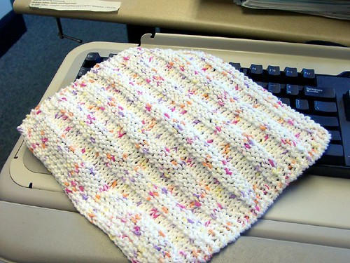 Dishrag Tag Dishcloth
