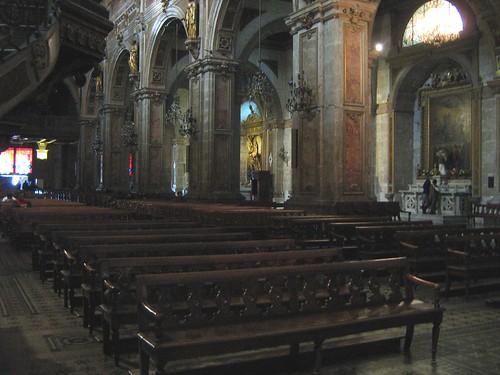 Inside Santiago Metropolitan Cathedral